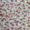 Red Dainty Floral Polycotton Prints - Epra Fa
