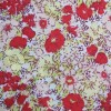 Orange Floral Polycotton Prints - Epra Fabric