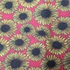 Sunflower Fabric - Polycotton Print - Epra Fa