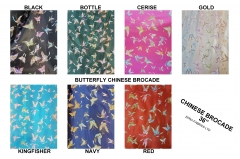 butterfly chinese brocade