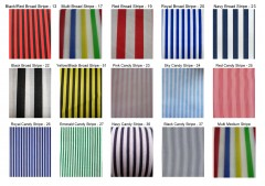 polycotton print - stripes
