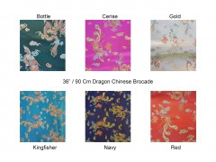 dragon chinese brocade