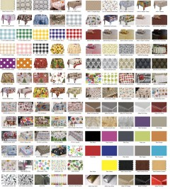 table covering (20 metres at £1.95)